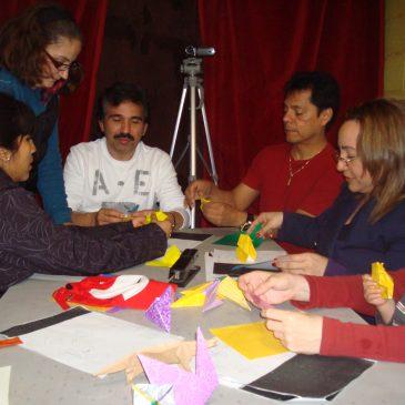 Taller creativo de manualidades (origami)